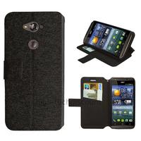 Housse etui coque pochette portefeuille pour Acer Liquid E600 + film ecran - NOIR