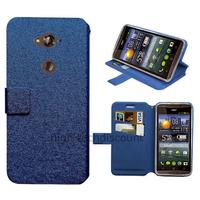 Housse etui coque pochette portefeuille pour Acer Liquid E600 + film ecran - BLEU