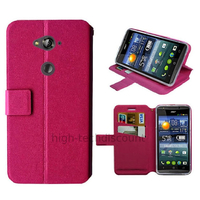 Housse etui coque pochette portefeuille pour Acer Liquid E600 + film ecran - ROSE