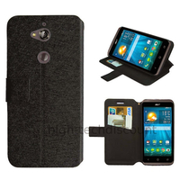 Housse etui coque pochette portefeuille pour Acer Liquid Z410 + film ecran - NOIR