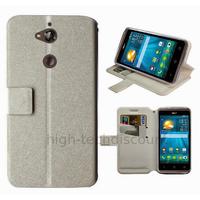Housse etui coque pochette portefeuille pour Acer Liquid Z410 + film ecran - BLANC
