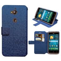 Housse etui coque pochette portefeuille pour Acer Liquid Z410 + film ecran - BLEU