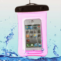 Housse etui pochette etanche waterproof pour Alcatel One Touch Pop C5 (5036) - ROSE