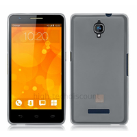 Housse etui coque pochette silicone gel pour Orange Fova - BLANC TRANSPARENT