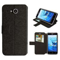Housse etui coque pochette portefeuille pour Acer Liquid Z520 + film ecran - NOIR
