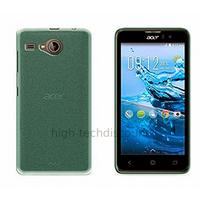 Housse etui coque pochette silicone gel fine pour Acer Liquid Z520 + film ecran - BLEU