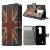Housse etui coque pochette portefeuille PU cuir pour LG Leon 4G LTE + film ecran - UK