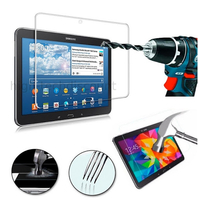 Film de protection vitre verre trempe transparent pour Samsung T530 Galaxy Tab 4 10.1