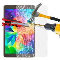 Film de protection vitre verre trempe transparent pour Samsung T700 Galaxy Tab S 8.4