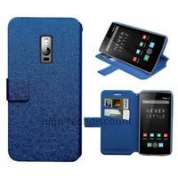 Housse etui coque pochette portefeuille pour OnePlus 2 + film ecran - BLEU