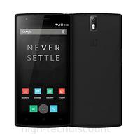Housse etui coque pochette silicone gel fine pour OnePlus 2 + film ecran - NOIR