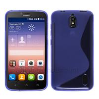 Housse etui coque pochette silicone gel fine pour Huawei Ascend Y625 + film ecran - MAUVE