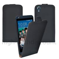 Housse etui coque pochette PU cuir fine pour HTC Desire 626 + film ecran - NOIR