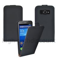 Housse etui coque pochette PU cuir fine pour Huawei Ascend Y540 + film ecran - NOIR