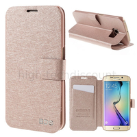 Housse etui coque portefeuille pour Samsung G928F Galaxy S6 Edge Plus + film ecran - ROSE CLAIR