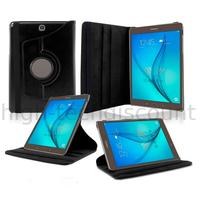 Housse etui coque pochette PU cuir pour Samsung Galaxy Tab E 9.6 T560 + film ecran - NOIR