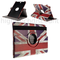 Housse etui coque pochette PU cuir pour Samsung Galaxy Tab E 9.6 T560 + film ecran - UK