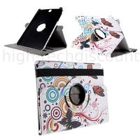 Housse etui coque pochette PU cuir pour Samsung Galaxy Tab E 9.6 T560 + film ecran - PAPILLONS