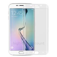 Film de protection vitre verre trempé incurvé intégral pour Samsung G925F Galaxy S6 Edge Plus - TRANSPARENT