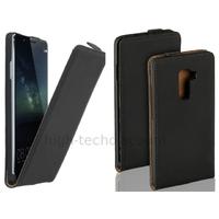 Housse etui coque pochette PU cuir fine pour Huawei Ascend Mate S + film ecran - NOIR