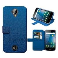 Housse etui coque pochette portefeuille pour Acer Liquid M330 + film ecran - BLEU