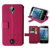 Housse etui coque pochette portefeuille pour Acer Liquid M330 + film ecran - ROSE