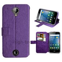 Housse etui coque pochette portefeuille pour Acer Liquid M330 + film ecran - MAUVE