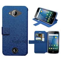 Housse etui coque pochette portefeuille pour Acer Liquid Z530 + film ecran - BLEU