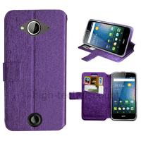 Housse etui coque pochette portefeuille pour Acer Liquid Z530 + film ecran - MAUVE