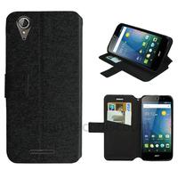 Housse etui coque pochette portefeuille pour Acer Liquid Z630 + film ecran - NOIR