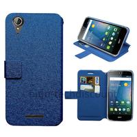 Housse etui coque pochette portefeuille pour Acer Liquid Z630 + film ecran - BLEU