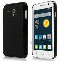 Housse etui coque silicone gel fine pour Alcatel One Touch Pop 2 (4.0) 4045D - NOIR