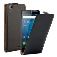 Housse etui coque pochette PU cuir fine pour Acer Liquid Z630 + film ecran - NOIR