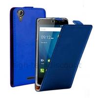 Housse etui coque pochette PU cuir fine pour Acer Liquid Z630 + film ecran - BLEU