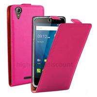 Housse etui coque pochette PU cuir fine pour Acer Liquid Z630 + film ecran - ROSE