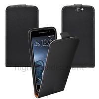 Housse etui coque pochette PU cuir fine pour HTC One A9 + film ecran - NOIR