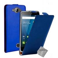 Housse etui coque pochette PU cuir fine pour Acer Liquid Z530 + film ecran - BLEU