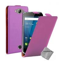 Housse etui coque pochette PU cuir fine pour Acer Liquid Z530 + film ecran - MAUVE