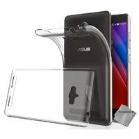 Housse etui coque gel pour Asus Zenfone Max ZC550KL + film ecran - TRANSPARENT TPU