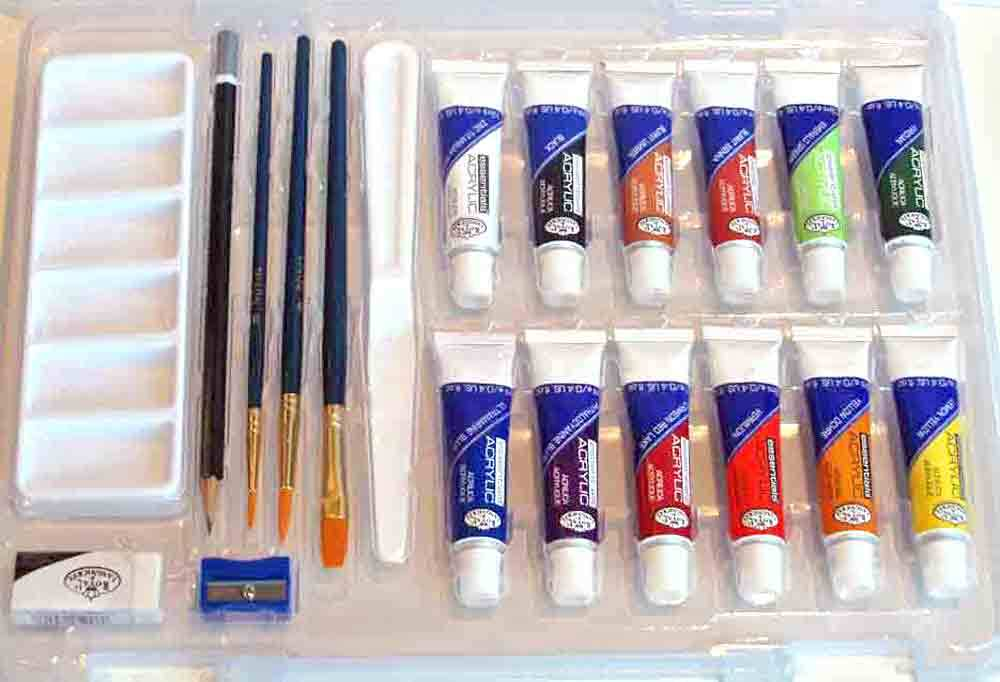Set Acrylique essentiels - Royal & Langnickel