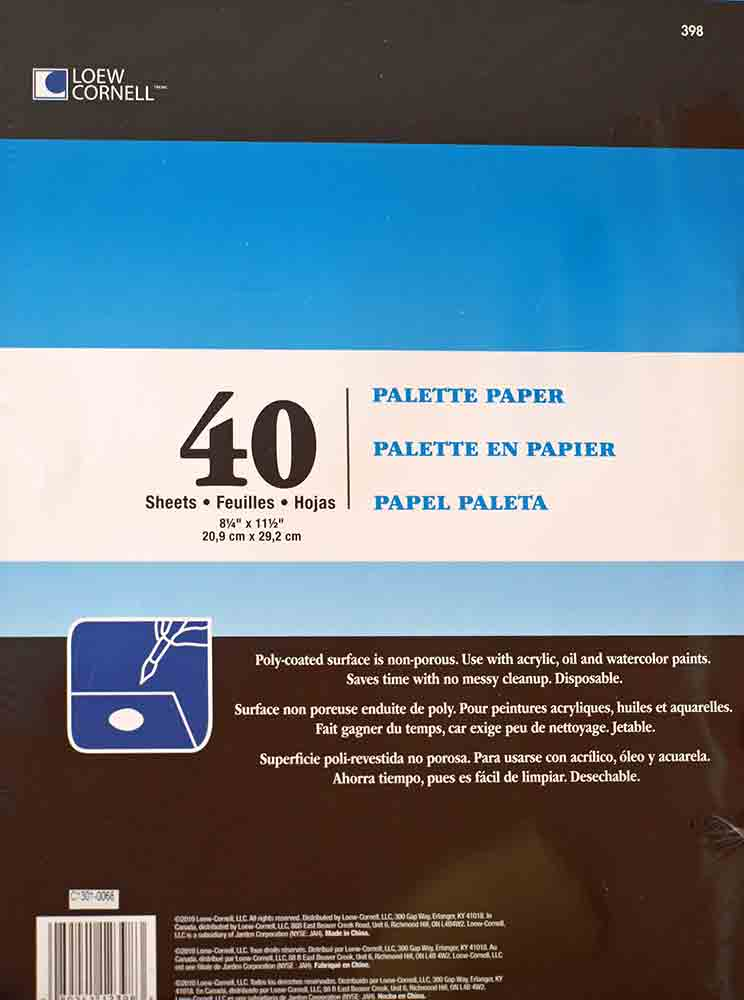 Bloc palette en papier - Loew Cornell