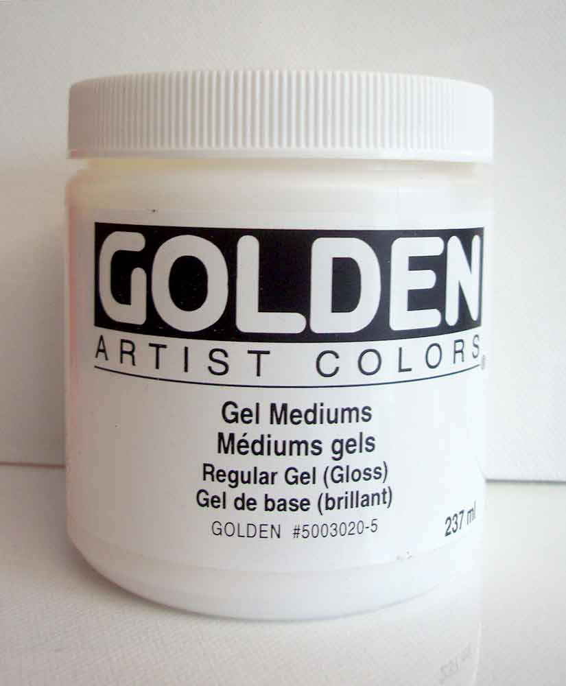 Gel de base brillant - Golden - 237ml