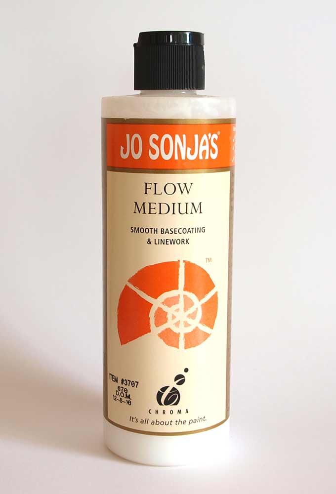 Médium fluide (Flow médium) -  Jo Sonja