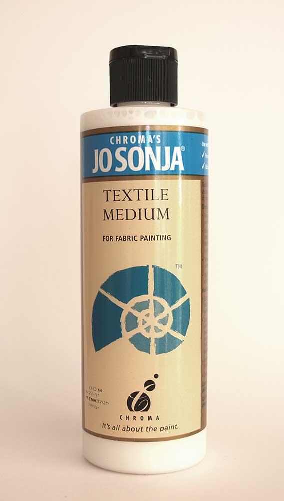 Médium de peinture sur tissus - Jo sonja