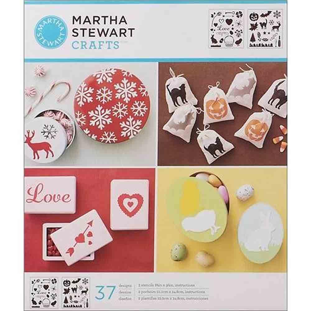 Pochoirs  - Martha Stewart - motifs Icônes de fêtes