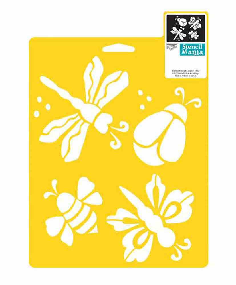 Pochoirs Delta Creative - insectes