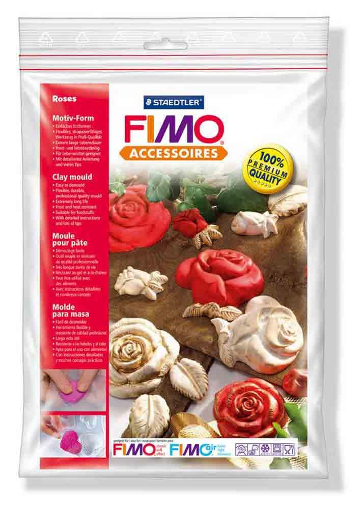 Moule pour Fimo: Roses