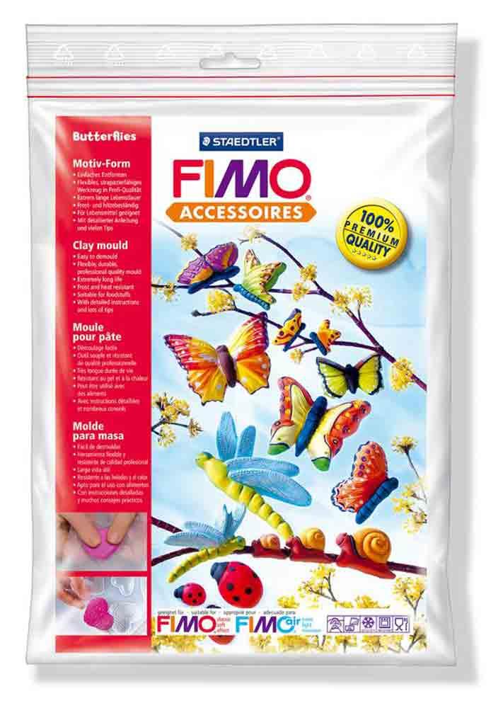 Moule pour Fimo: papillons
