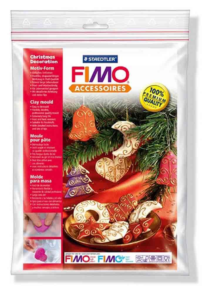 Moule pour Fimo: Décorations de Noël