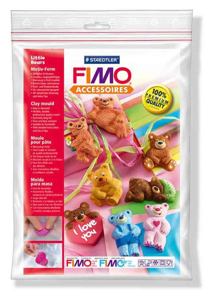 Moule pour Fimo: Oursons